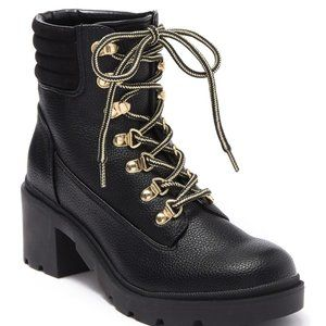 "Tommy Hilfiger ""abelia"" Combat Boot Lace-up NEW"